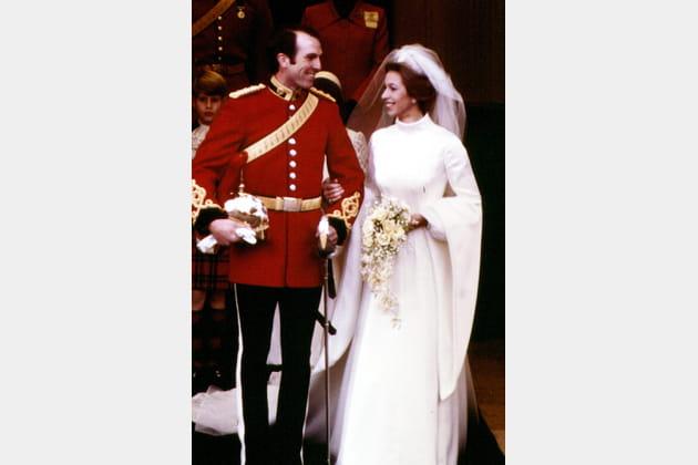 La princesse Anne et le Capitaine Mark Phillips