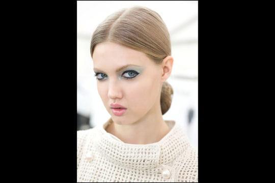 Fashion week Paris: le trait d'eyeliner du défilé Chanel