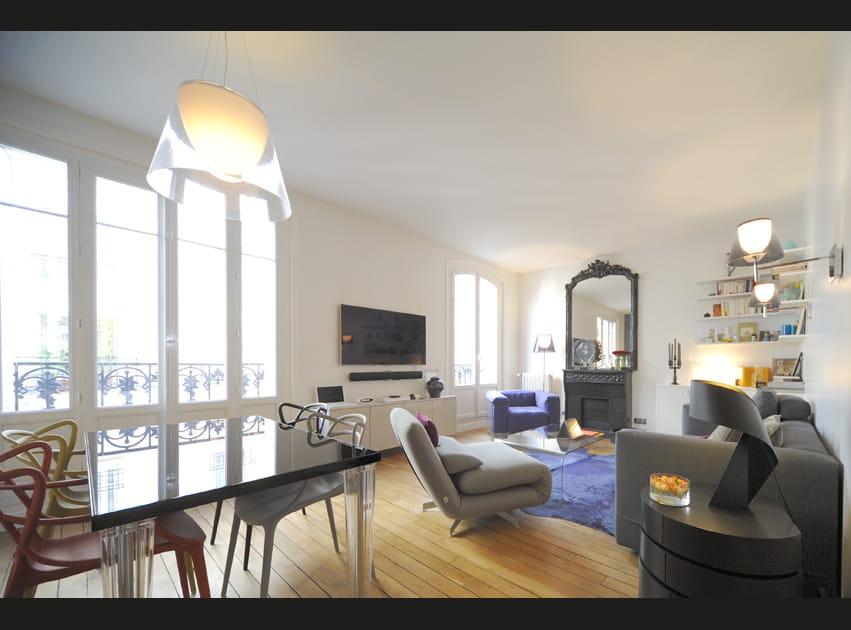 Un appartement parisien complètement décloisonné