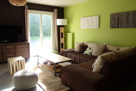 la couleur marron en d co. Black Bedroom Furniture Sets. Home Design Ideas