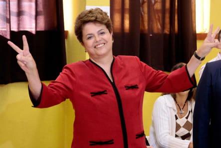 Dilma Rousseff, reine de samba