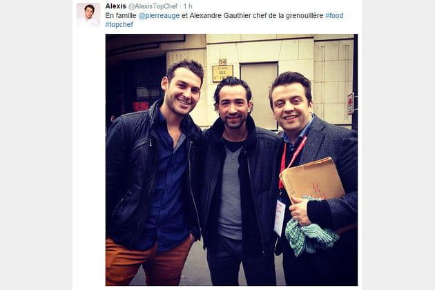 Alexis Braconnier, Pierre Augé et Alexandre Gauthier