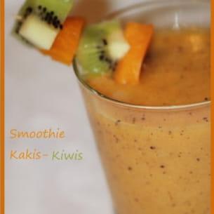 smoothie kakis-kiwis