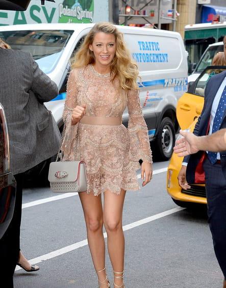 Une robe bijou pour Blake Lively