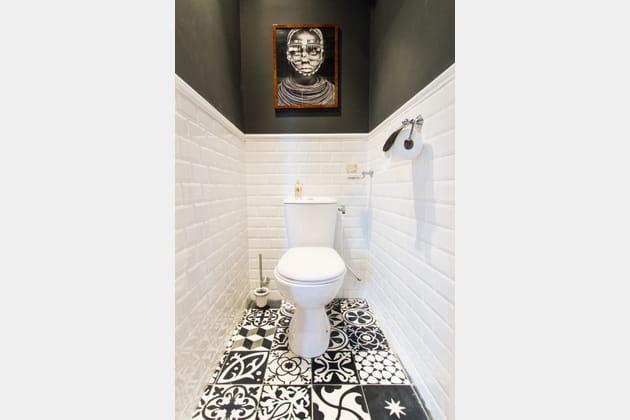 toilettes graphiques. Black Bedroom Furniture Sets. Home Design Ideas