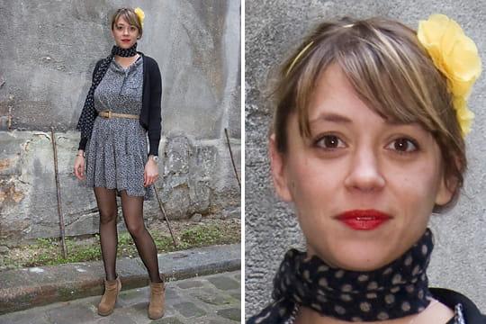 Fashion week : les street looks des défilés parisiens PAP automne-hiver 2011-2012 45