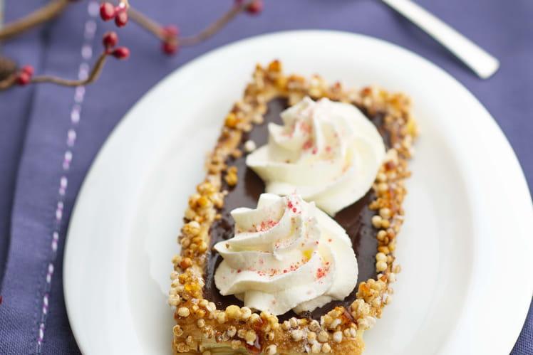 Tartelettes au chocolat et crème mascarpone