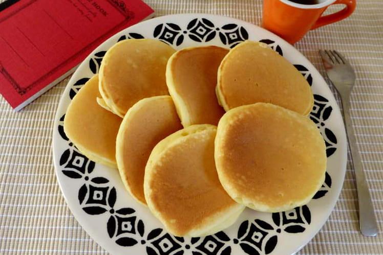 Pancakes ultra moelleux à la ricotta