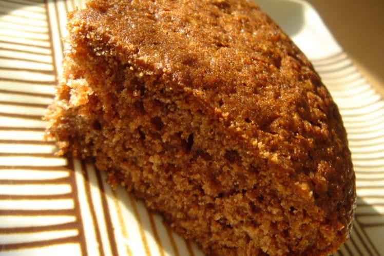 Cake express aux pépites de chocolat