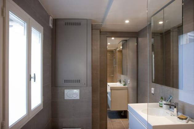 Une salle de bains repensée