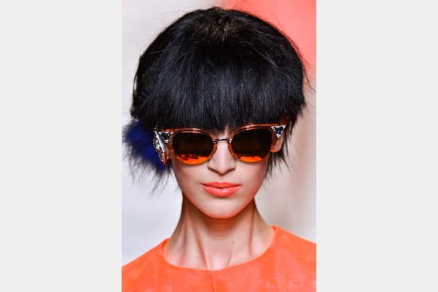 Les lunettes cristaux de Fendi