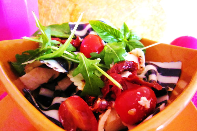 Funky salade de farfalles