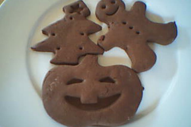 Sablés au chocolat et orange