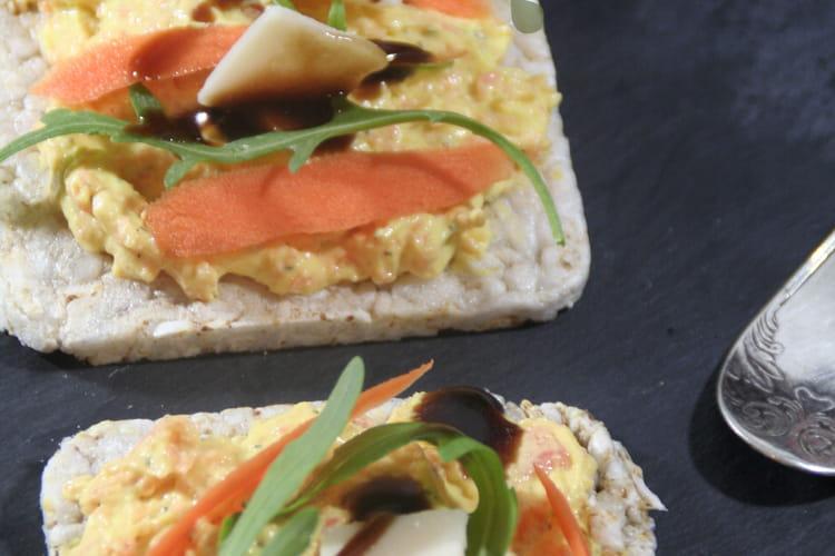 Tartines carottes et brousse