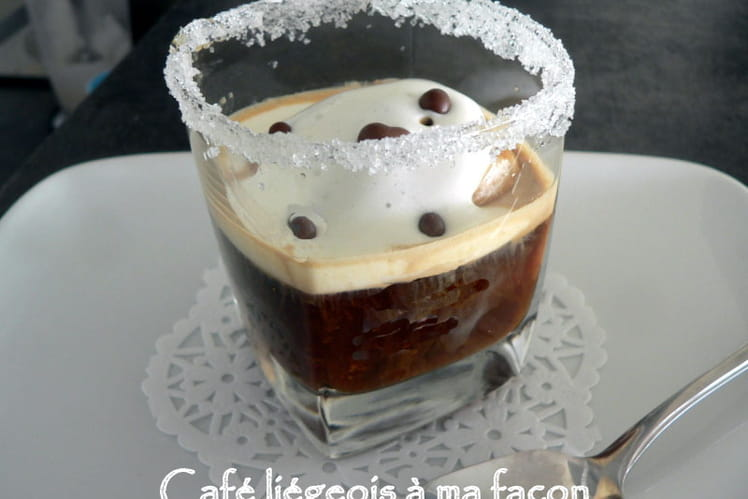 Café liégeois à ma façon