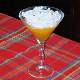 compote d'ananas meringuée