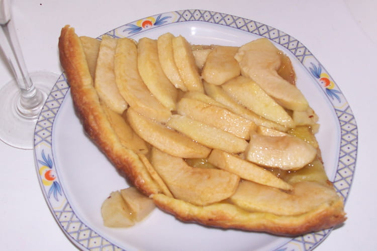 Tarte aux pommes allégée