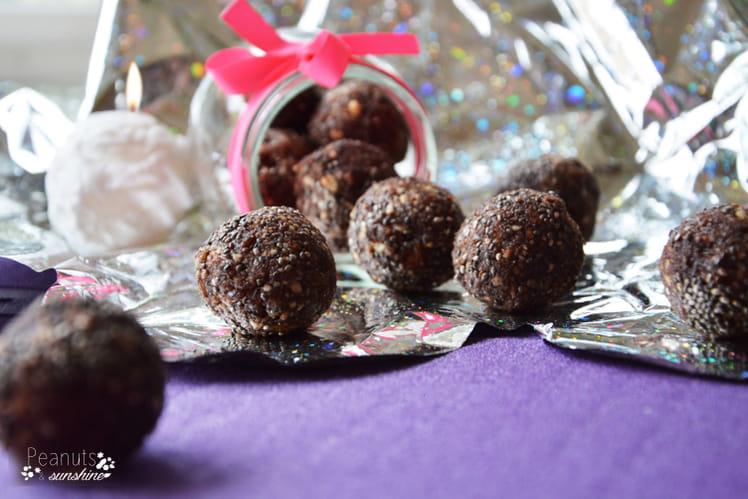 Billes de fruits secs - Healthy bliss ball