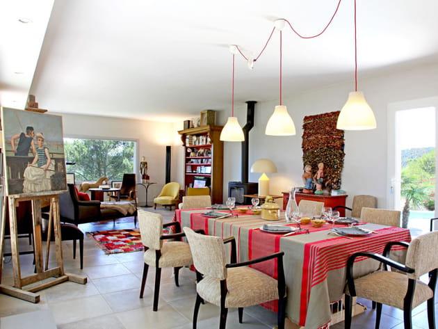 Une salle à manger métissée