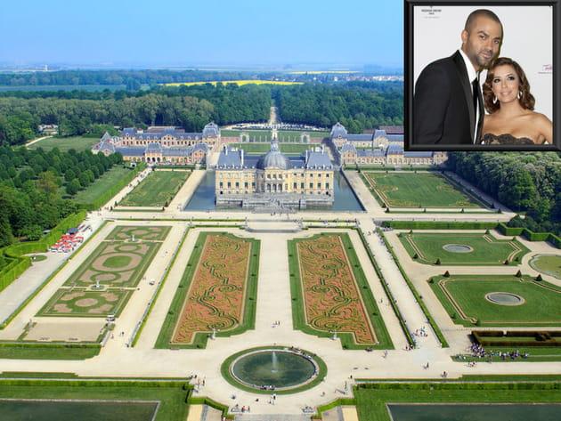 Coloriage Chateau Vaux Le Vicomte.Chateau De Vaux Le Vicomte Eva Longoria Et Tony Parker