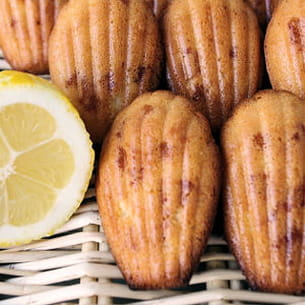 madeleines aux deux citrons