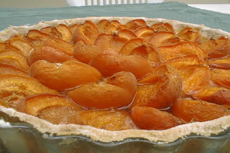 Tarte simplissime aux abricots
