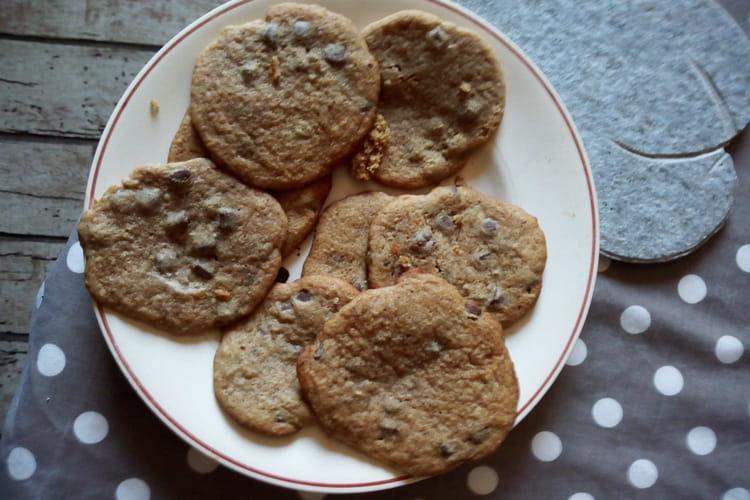 Tendres cookies à la poudre d'amandes