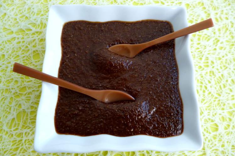 Crème dessert caramel macchiato à la chicorée et au psyllium