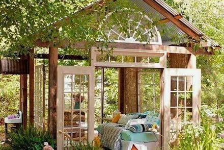 Abri de jardin mod les et conseils pour construire un abri de jardin - Construire cabane jardin tours ...