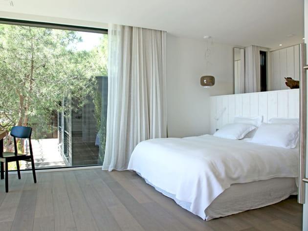 Design et lambris blanc - Lambris chambre ...
