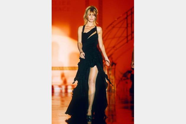 Claudia Schiffer le 14janvier 1994