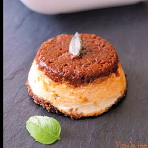 cheesecake ensoleillé