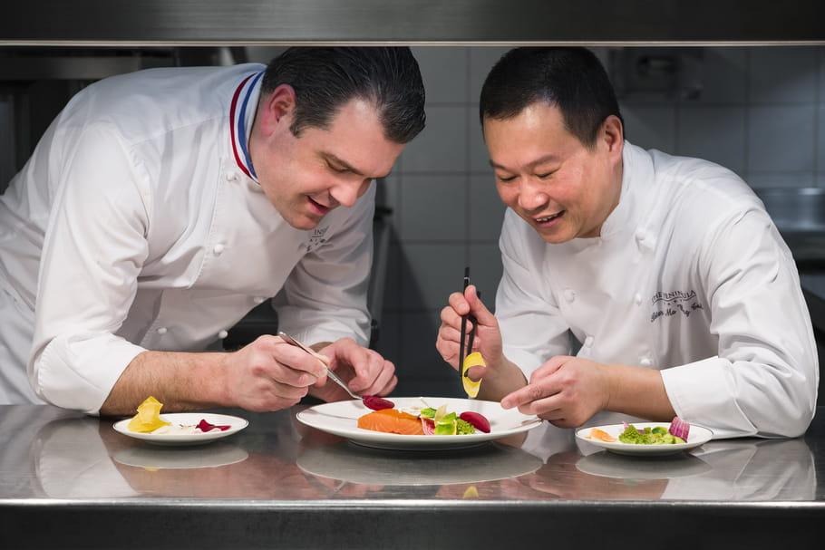 LiLi au Peninsula: deux chefs à l'unisson pour un menu d'exception
