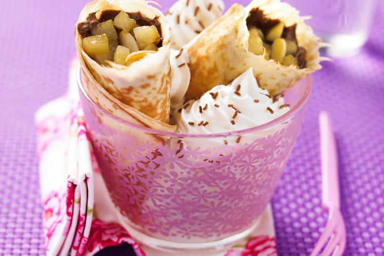 Wraps Poire-chocolat