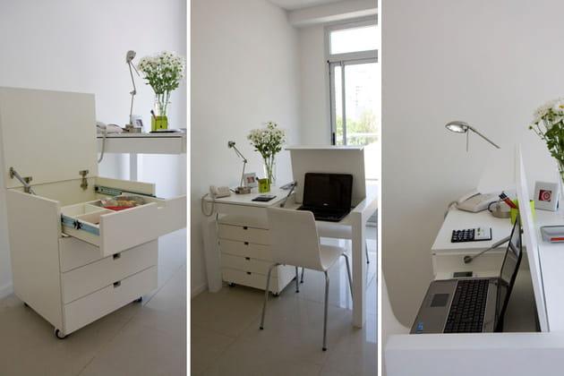 des id es pour bien travailler chez soi. Black Bedroom Furniture Sets. Home Design Ideas