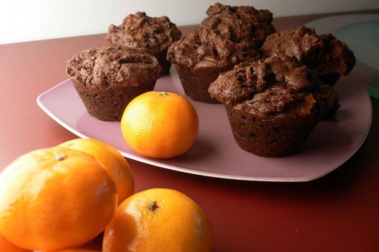 Muffins choco-clémentine