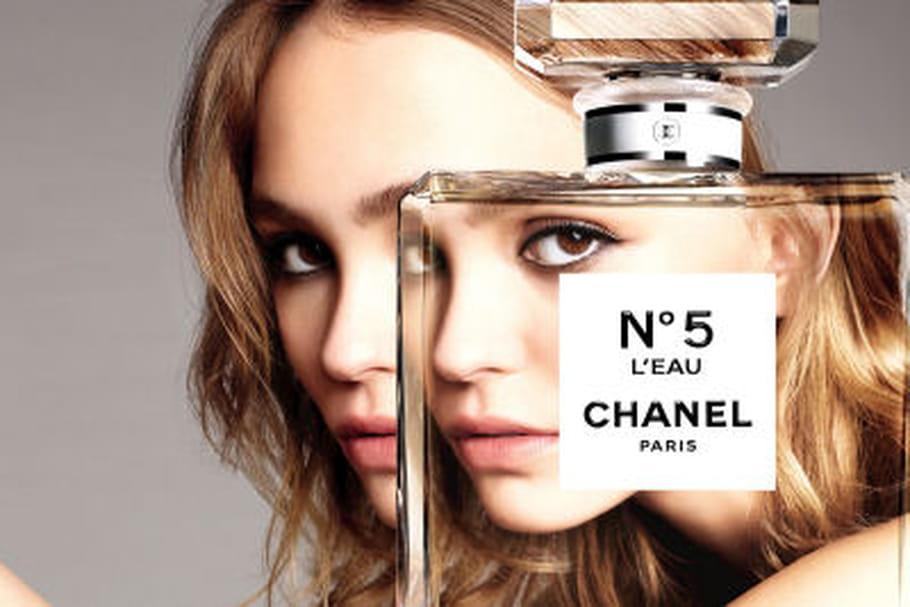 Lily-Rose Depp, divine égérie pour Chanel N°5 L'Eau
