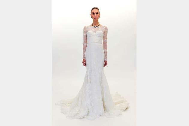 La robe à balconnets Zac Posen