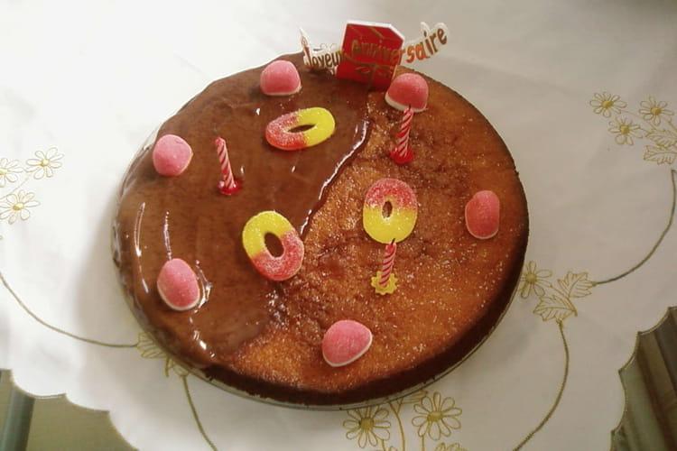 Gâteau au chocolat et aux pommes
