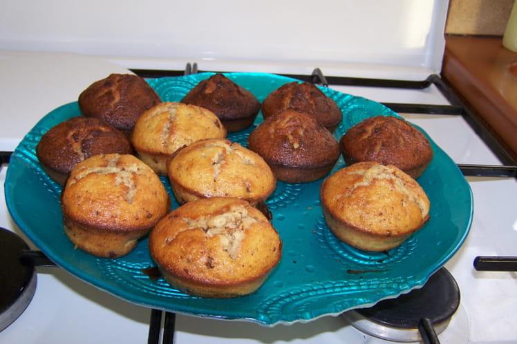 Muffins aux pépites de chocolat simplissimes