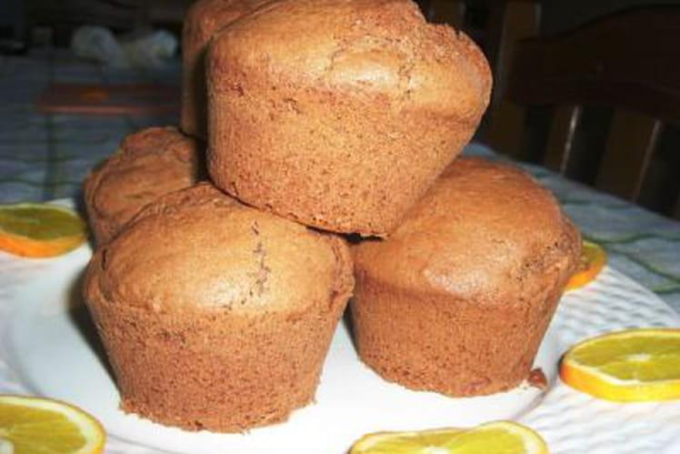 Mini muffins à l'orange et cacao