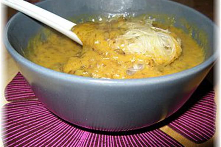 Potage de potiron et patates douces