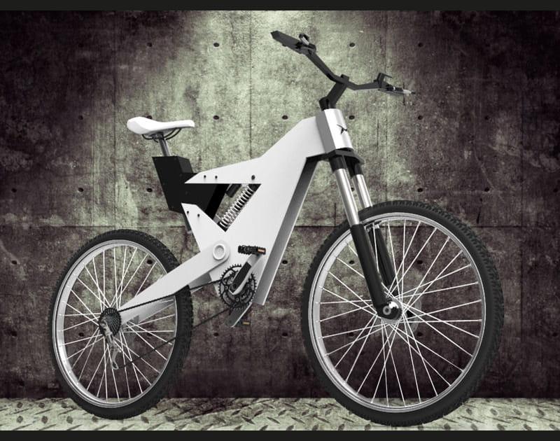 Le vélo MX-Hawk de Nicolas Gomes