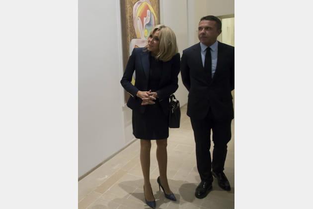 Brigitte Macron le 8octobre 2017