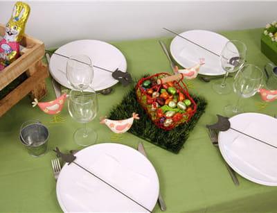 une table à l'esprit'nature'