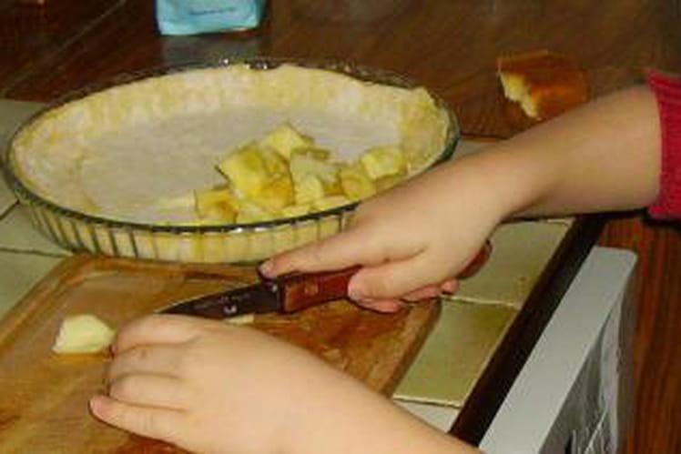 Gâteau aux pommes Juliette et Théo
