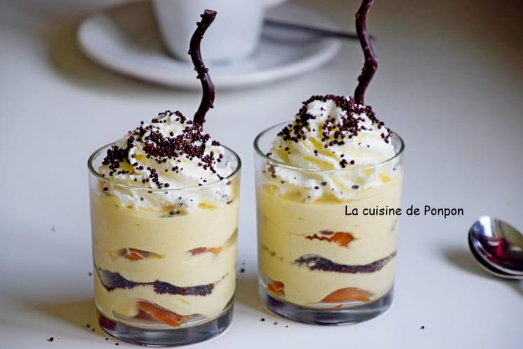 Verrine de babas au limoncello et crème mascarpone