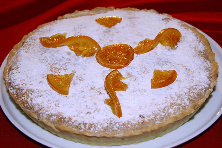 Tarte flamande à l'orange