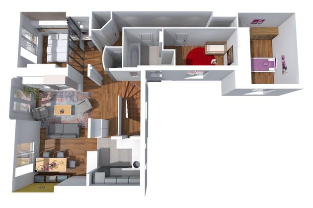 Les perspectives de l'appartement vue