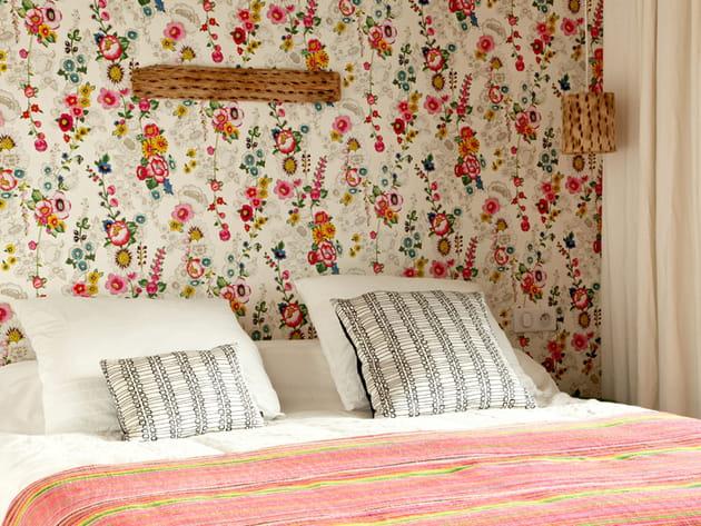 Chambre fleurs
